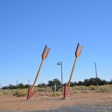 Twin Arrows Trading Post (Closed)- Near Flagstaff, AZ