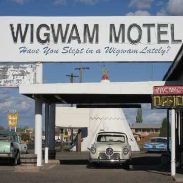 Rt 66- Famous Wigwam Motel, Holbrook, AZ